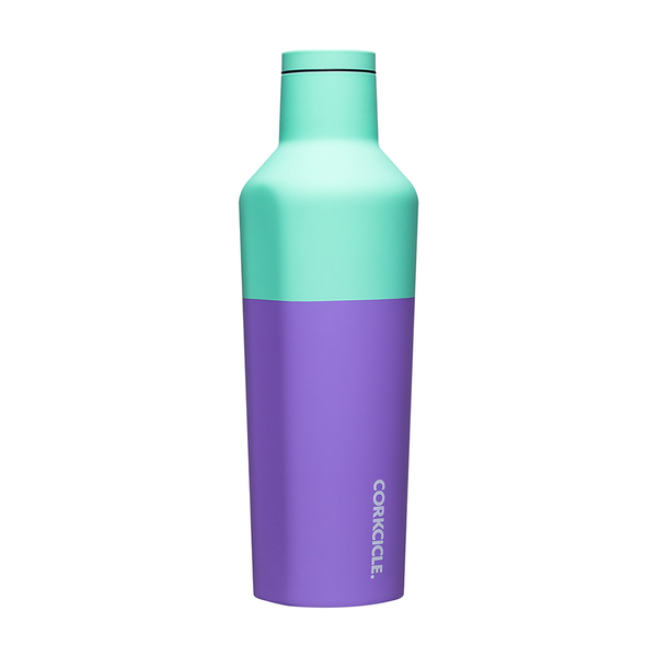 Corkcicle Colour Block  Drink Bottle 16oz 475ml Mint Berry
