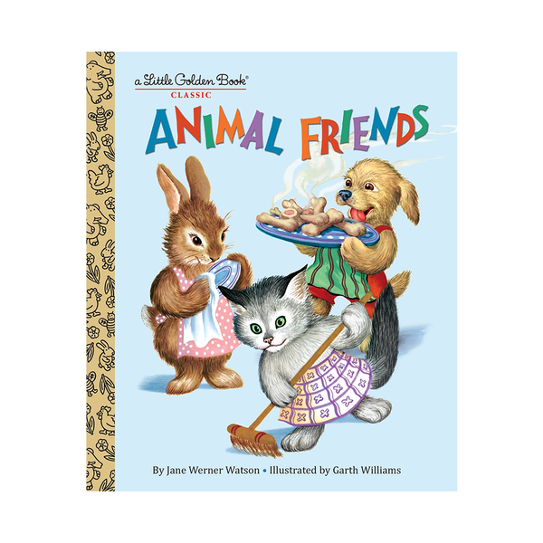 Little Golden Book Animal Friends