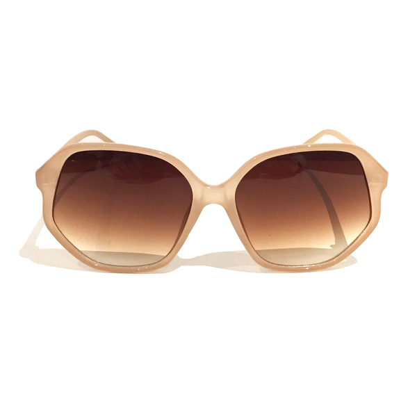 Damsel Sunglasses NYC Jelly Beige
