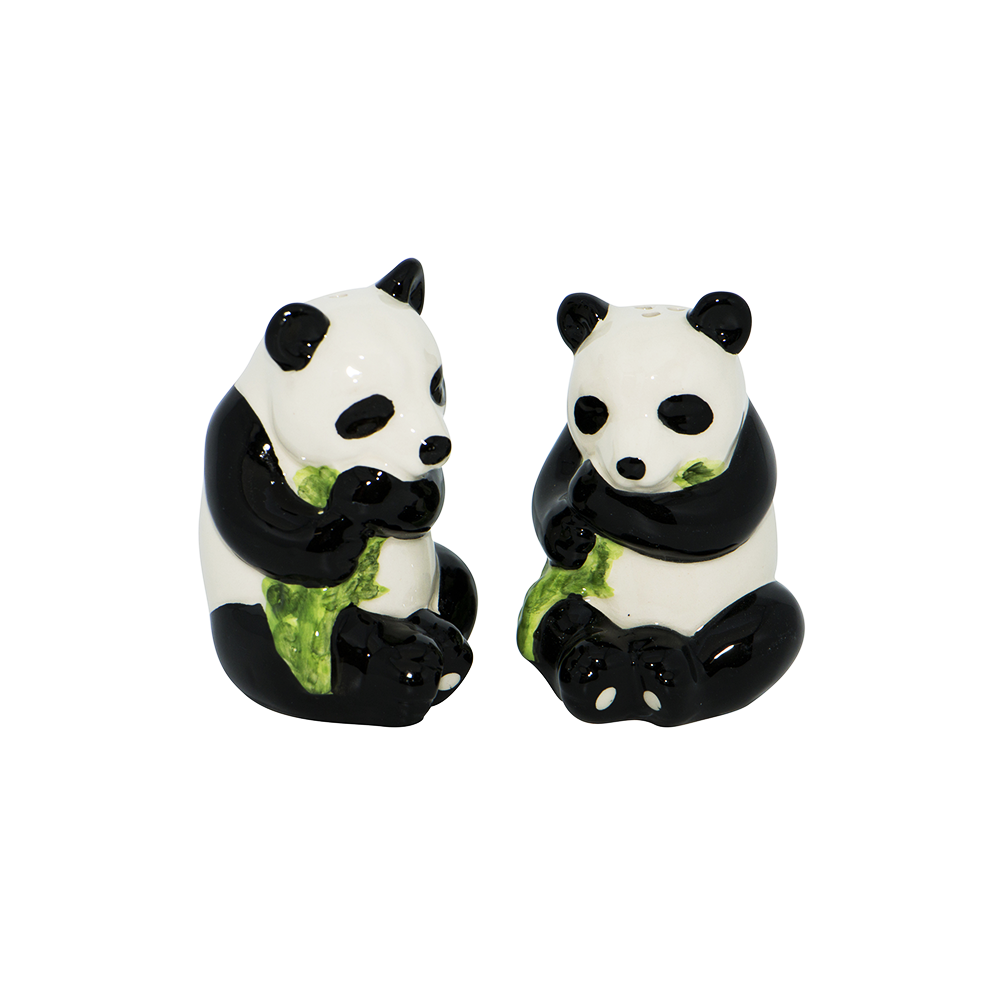 Dakota Panda Salt and Pepper Shakers