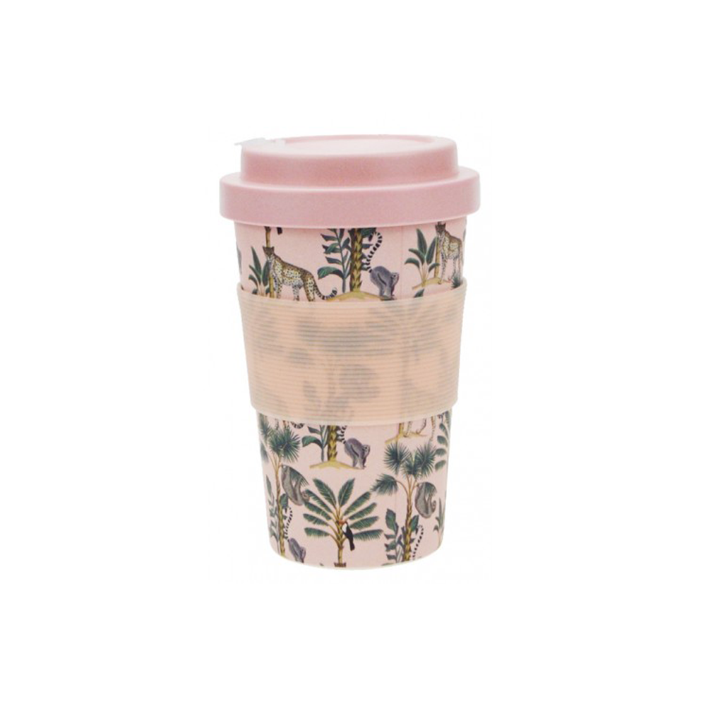Bamboo Eco Travel Mug Wild Jungle