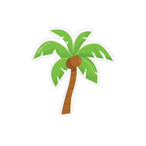 Iko Iko Fun Size Sticker Palm Tree