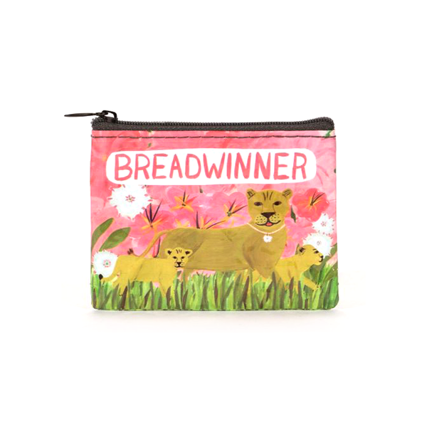 Blue Q Coin Purse Breadwinner