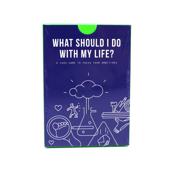 The School Of Life What Should I Do With My Life? Card Game