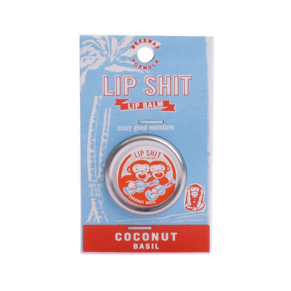 Blue Q Lip Shit Coconut Basil