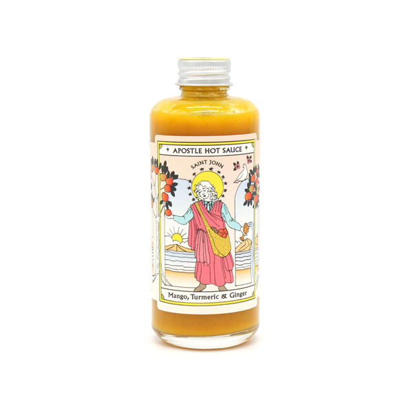 Apostle Hot Sauce Tumeric & Ginger