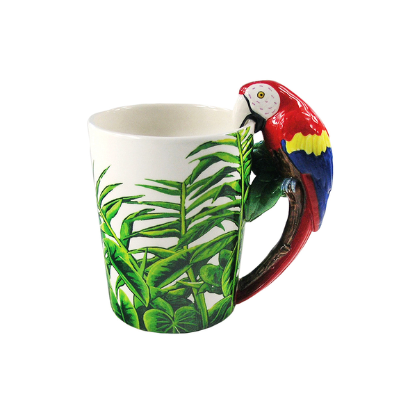 Dakota Macaw Handle Mug