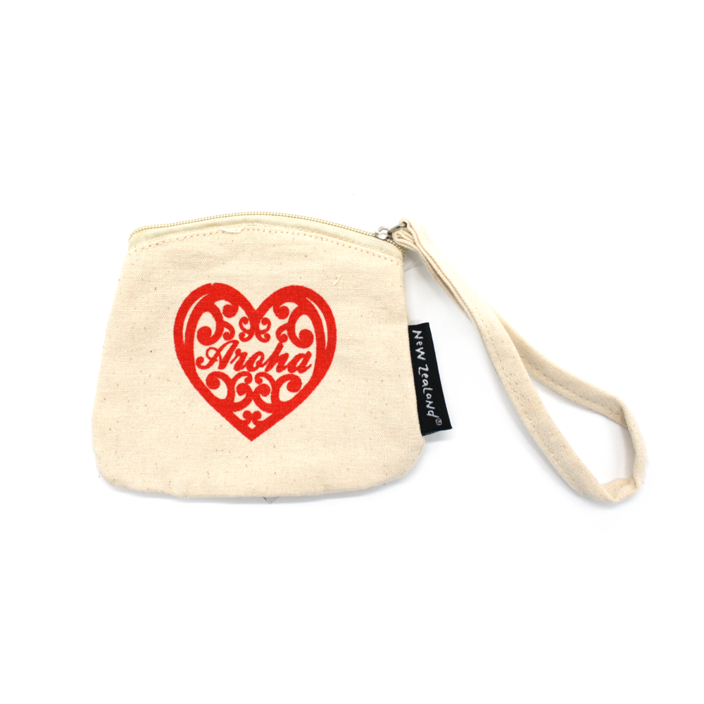 New Zealand Coin Purse Aroha