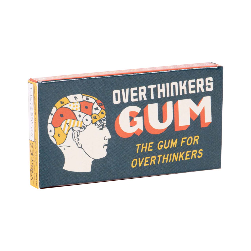 Blue Q Chewing Gum Overthinkers