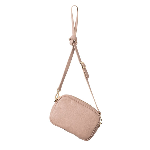 Citta Dixon Leather Handbag Rose Pink