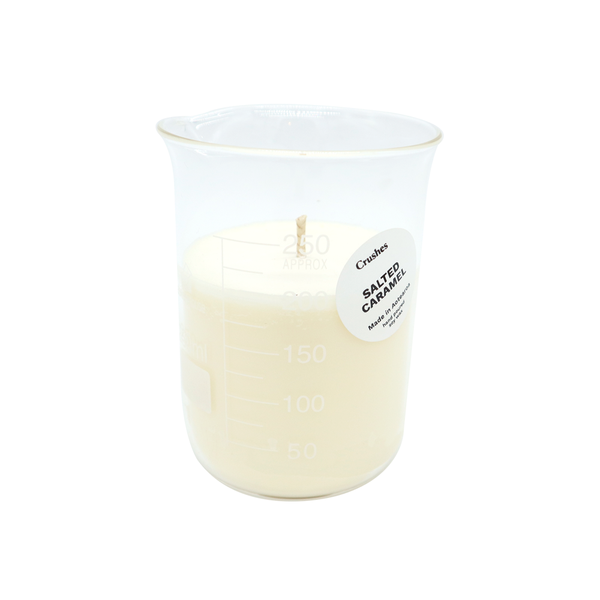 Crushes Beaker Candle Salted Caramel