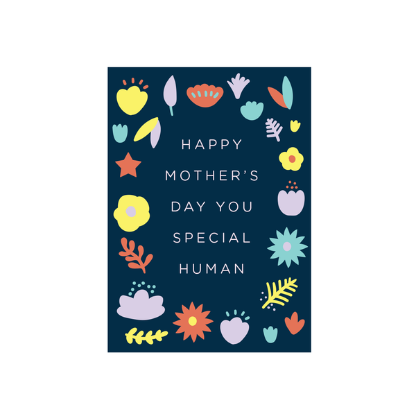 Iko Iko Floral Message Card Special Mother