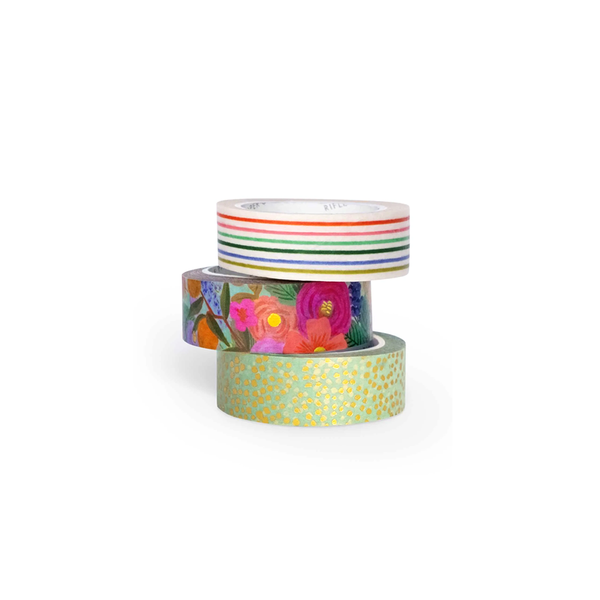 Rifle Paper Co Paper Tape Set of 3 Garden Party