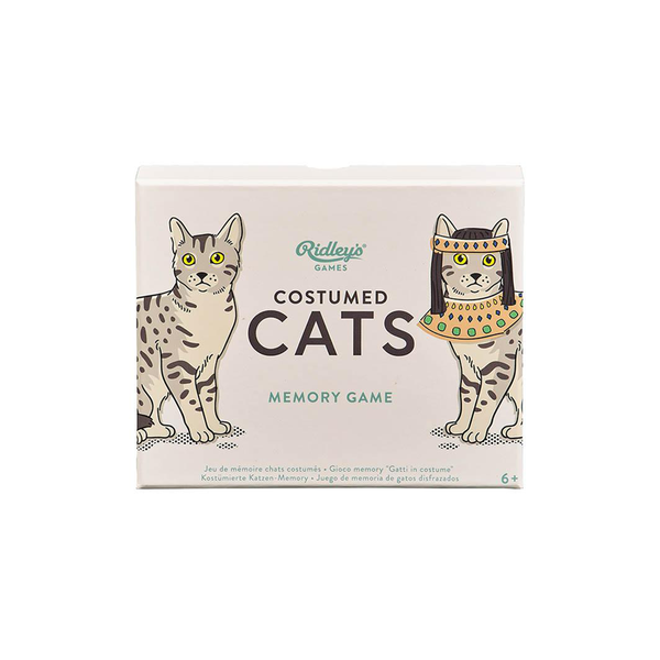 Ridleys Costumed Cats Memory Game