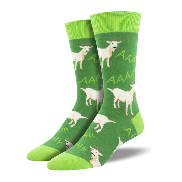 Socksmith Socks Mens Screaming Goat