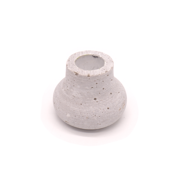 Concrete Candle Holder Round Small