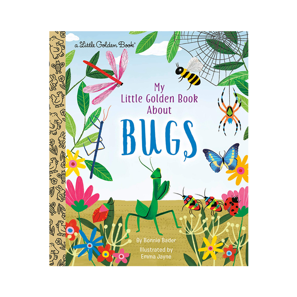 Little Golden Book About Bugs