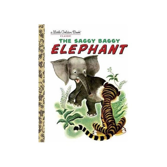 Little Golden Book Saggy Baggy Elephant