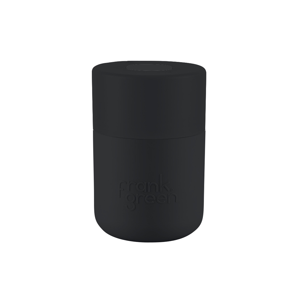 Frank Green Original Reusable Smart Cup 8oz Black