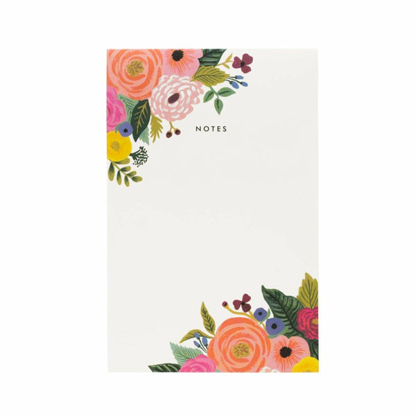 Rifle Paper Co Notepad Juliet Rose