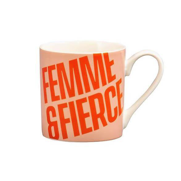 Yes Studio Ceramic Mug Femme and Fierce