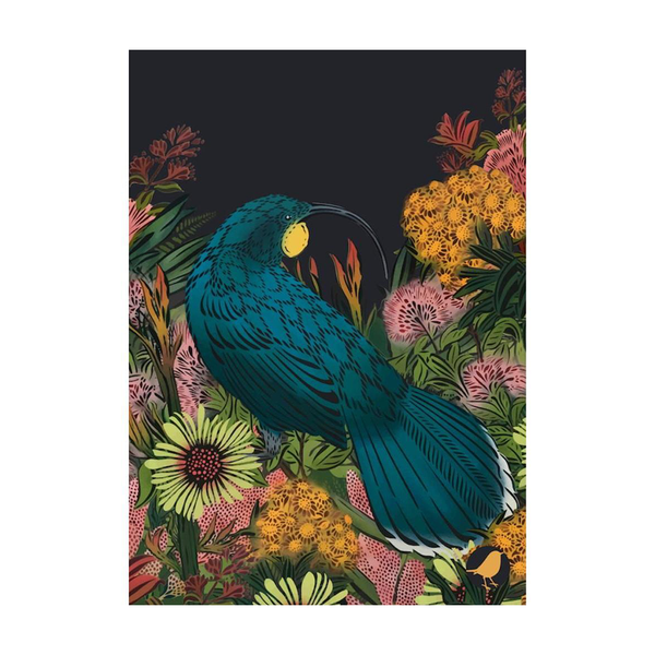 Flox Tea Towel Huia