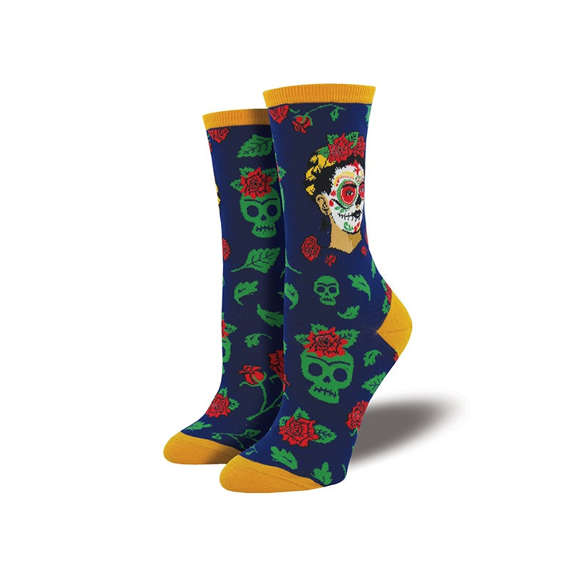 Socksmith Socks Womens Dia De Los Frida