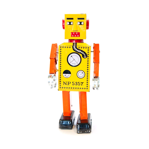 Tin Lilliput Robot Large