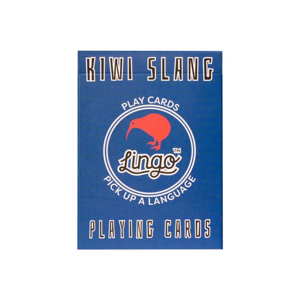 Lingo Kiwi Slang Playing Cards