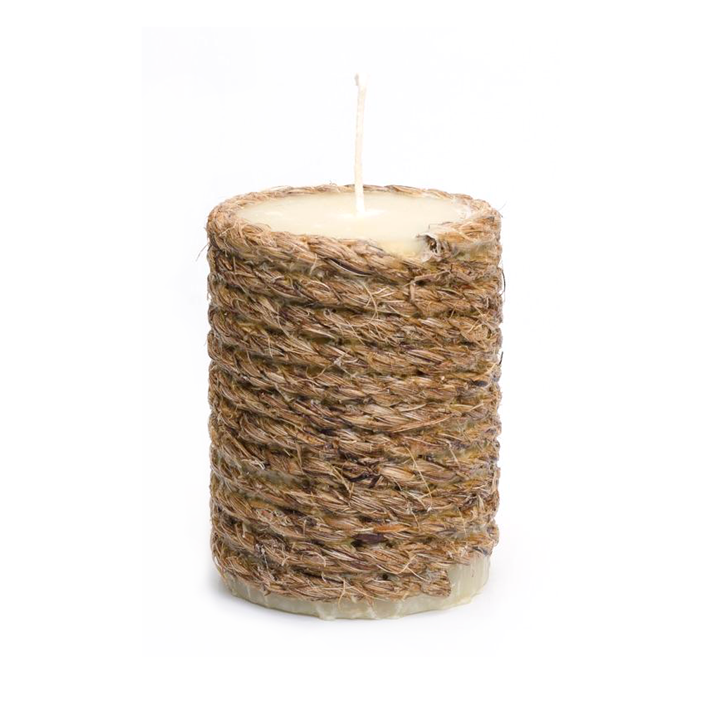 Handmade Rope Citronella Candle