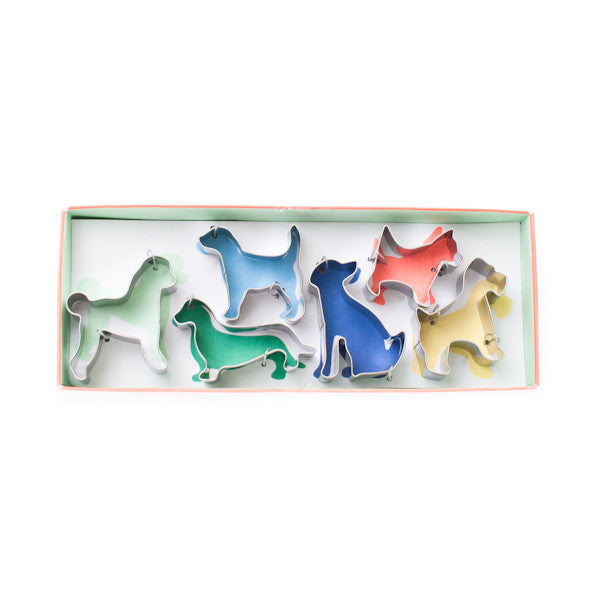 Meri Meri Cookie Cutter Set of 6 Canine