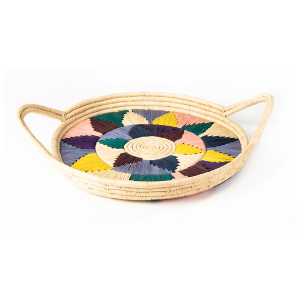Nawou Handwoven Tray