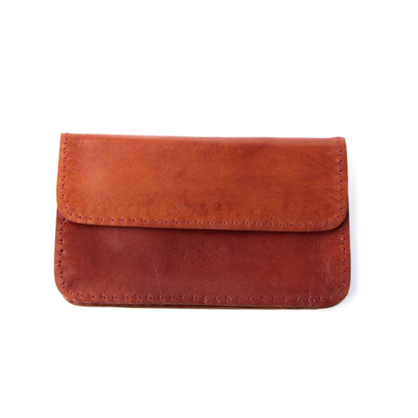Buffalo Leather Wallet Red