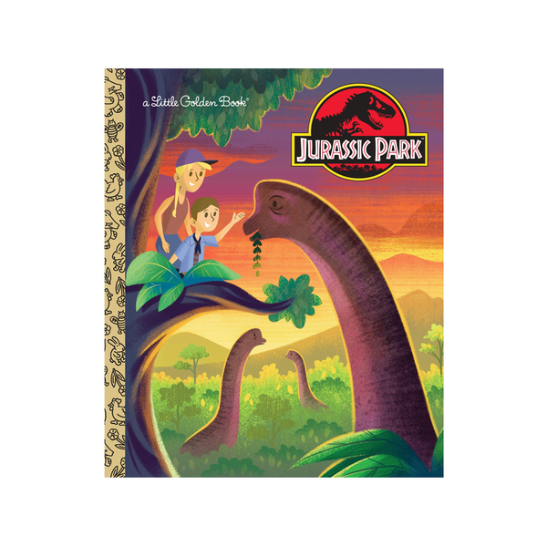 Little Golden Book Jarassic Park