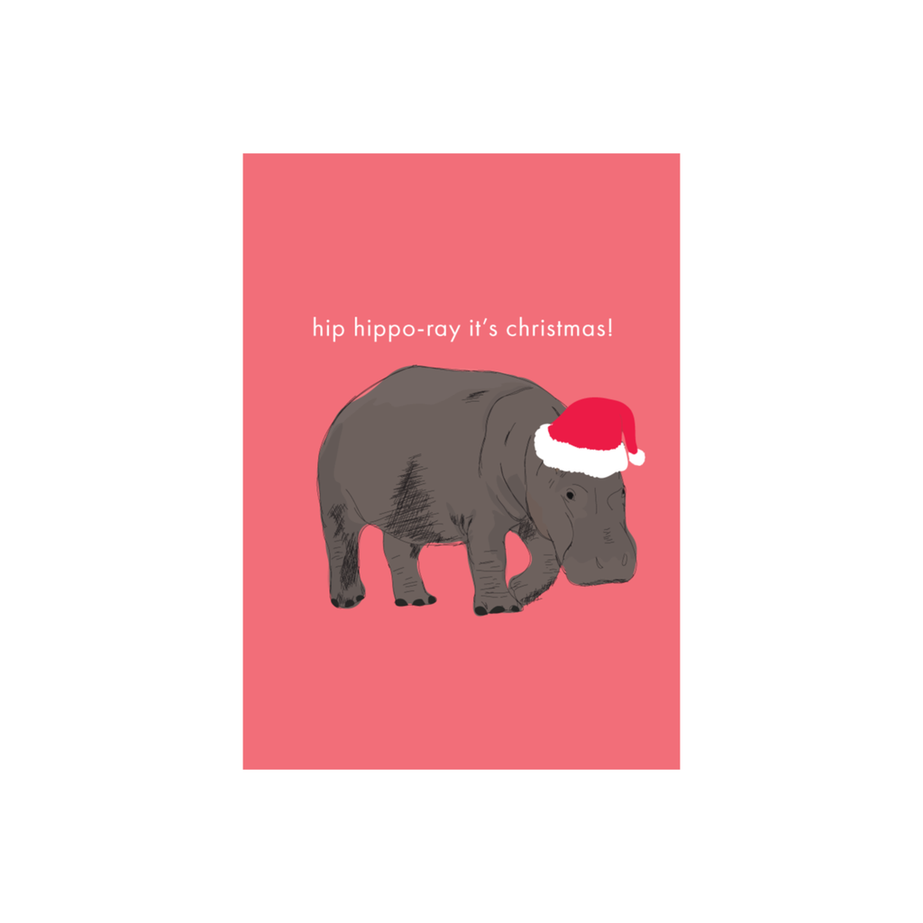 Iko Iko Christmas Card Hippo Ray