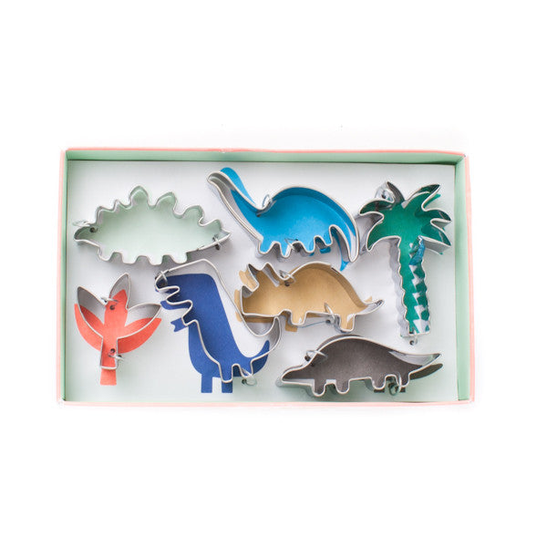 Meri Meri Cookie Cutter Set of 7 Dinosaur