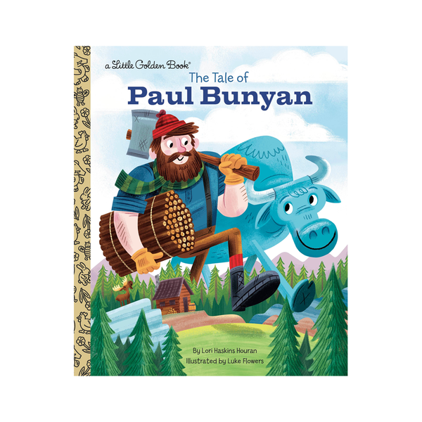 Little Golden Book Paul Bunyan