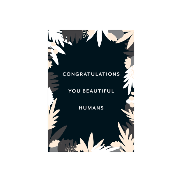 Iko Iko Pattern Card Beautiful Humans