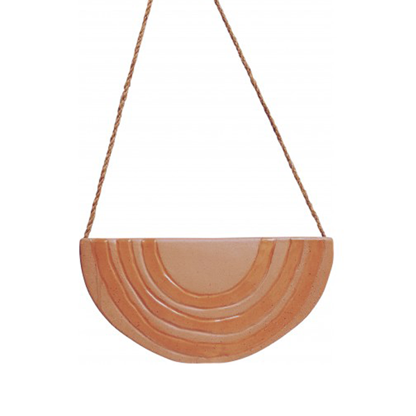 Rainbow Hanging Planter Terracotta