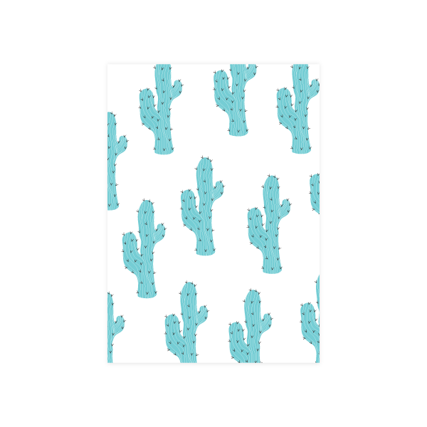 Iko Iko Colour Pop Card Cactus