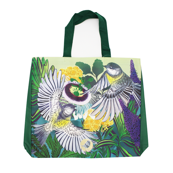 Flox Reusable Shopping Bag Miro Miro Green Handle