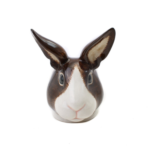 Quail Rabbit Face Egg Cup Brown White