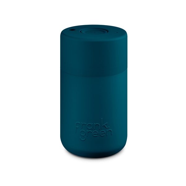 Frank Green Original Reusable Smart Cup 12oz Marine Blue