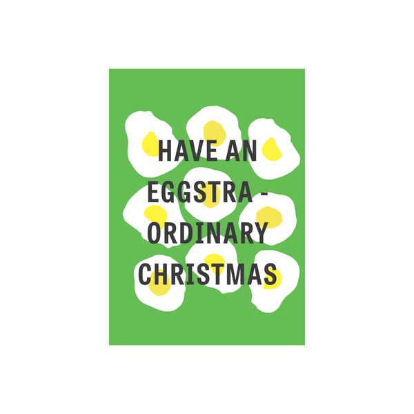 Iko Iko Christmas Card Eggstraordinary