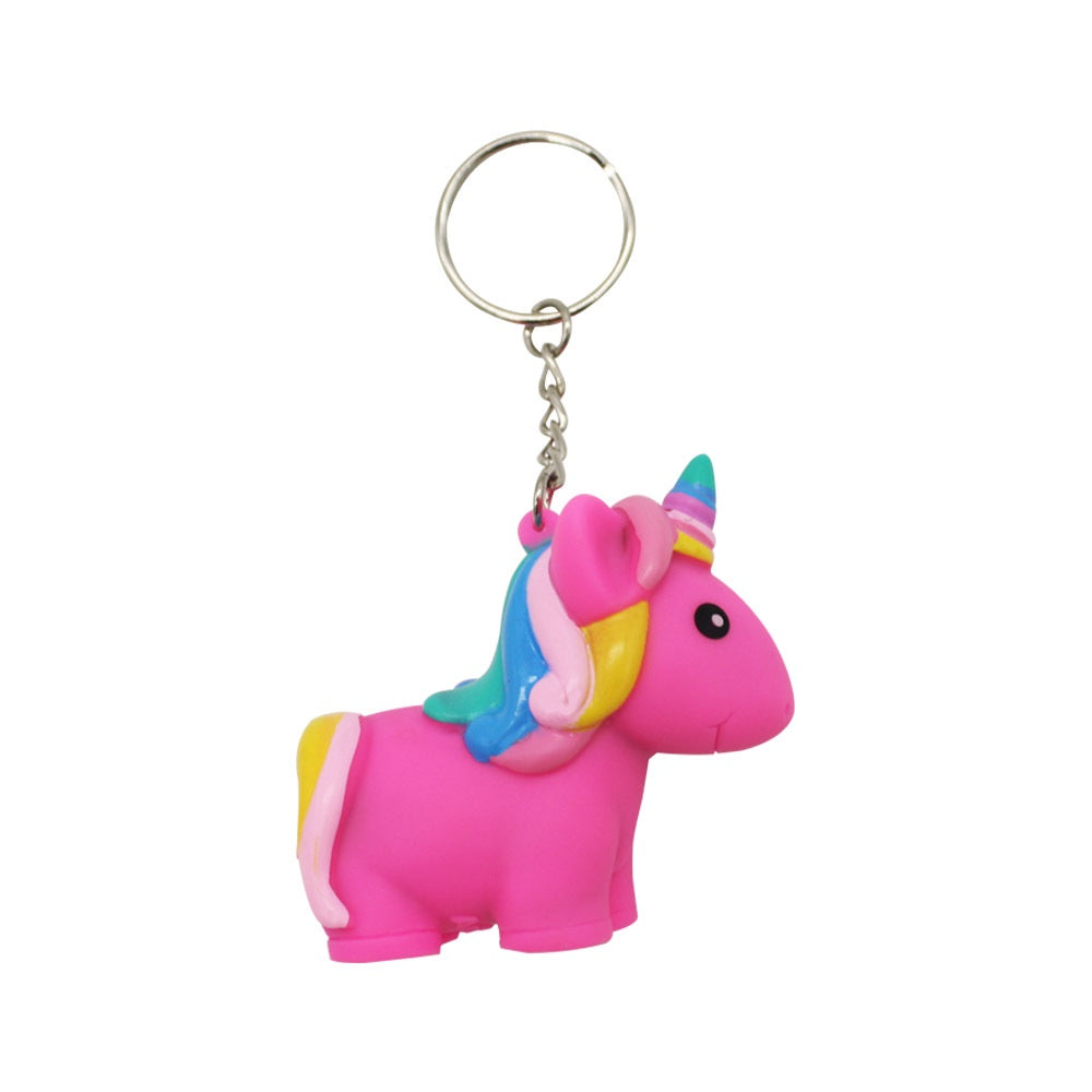 Poo Poo Unicorn Keychain Assorted