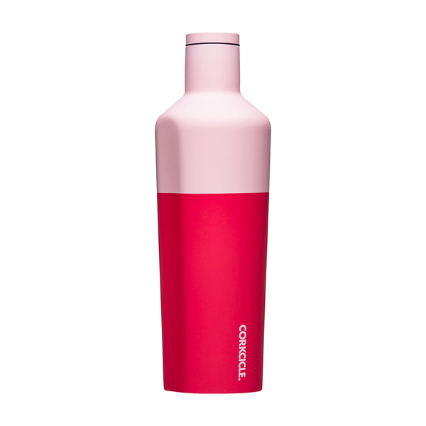 Corkcicle Colour Block Drink Bottle 25oz 750ml Shortcake