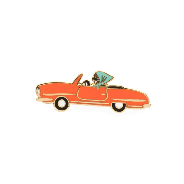 Rifle Paper Co Enamel Pin Car