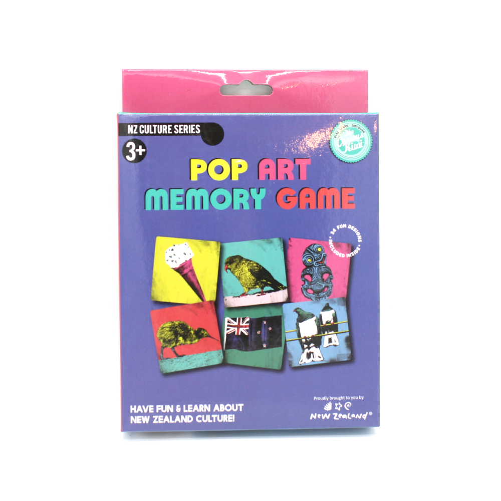 NZ Pop Art Memory Game