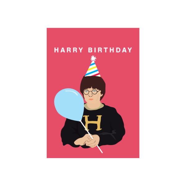 Iko Iko Pop Culture Card Harry Birthday