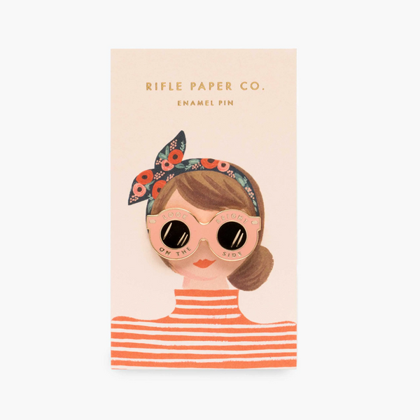 Rifle Paper Co Enamel Pin Sunglasses